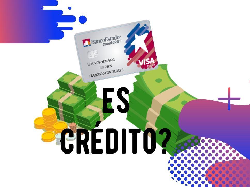 Cuenta Rut Visa del Banco Estado es Débito o Crédito